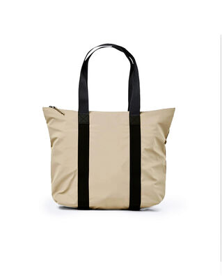 Rains Tote Bag Rush Beige