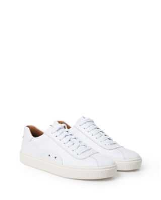 Polo Ralph Lauren Court 100 Leather Sneaker White