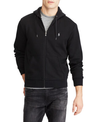 Polo Ralph Lauren Double Knit Full-Zip Hoodie Polo Black