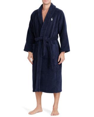 Polo Ralph Lauren Kimono Robe Cruise Navy