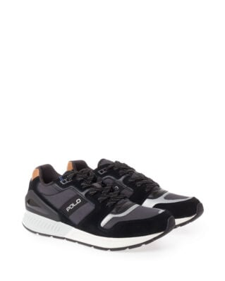 Polo Ralph Lauren Train100 Sneakers Black/Charcoal