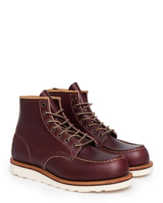 Red Wing Shoes 6-Inch Moc 8856 Oxblood Mesa Leather