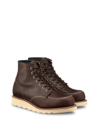 Red Wing Shoes 6-inch Moc Toe Mahogany Original