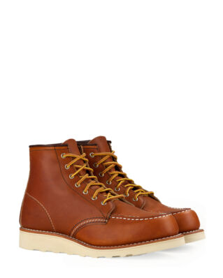 Red Wing Shoes 6-inch Classic Moc Toe 3375 Oro Legacy Leather