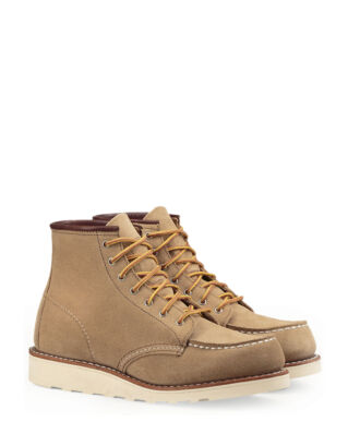 Red Wing Shoes 6-inch Classic Moc Toe 3376 Sand Mohave