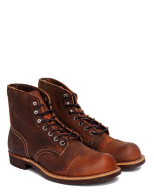 Red Wing Shoes Iron Ranger 8085 Copper Rough & Tough Leather