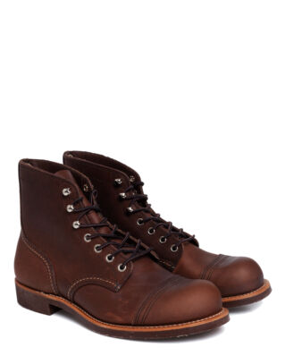 Red Wing Shoes Iron Ranger 8111 Amber Harness Leather