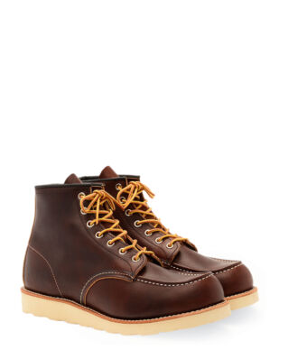 Red Wing Shoes 6-Inch Classic Moc Toe 8138 Briar Oil Slick Leather