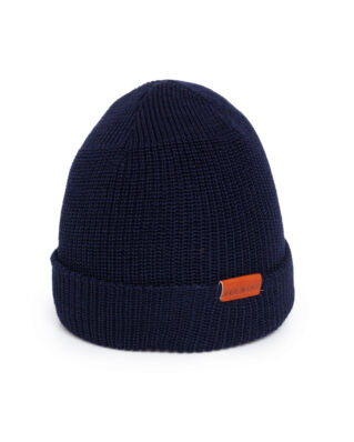 Red Wing Shoes Red Wing Merino Wool Knit Hat Navy