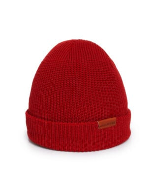 Red Wing Shoes Red Wing Merino Wool Knit Hat Red
