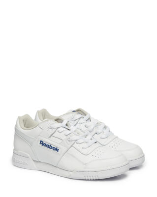 Reebok Workout plus white/royal sneakers