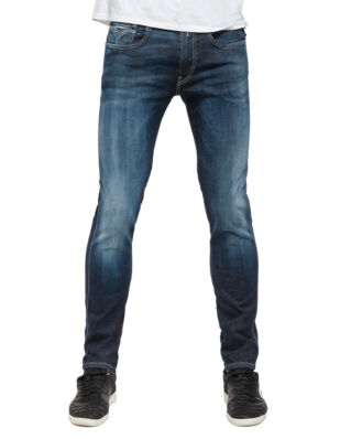 Replay M914 Anbass Hyperflex Slim Fit Jeans Medium Dark