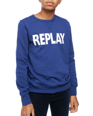 Replay Junior SB2026 Jumper Cotton Fleece Bluette