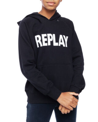 Replay Junior SB2420 Jumper Cotton Fleece Black
