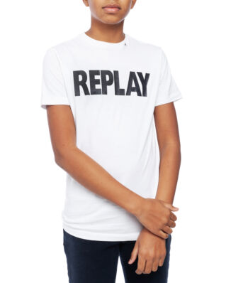 Replay Junior SB7308 T-Shirt Basic Jersey White