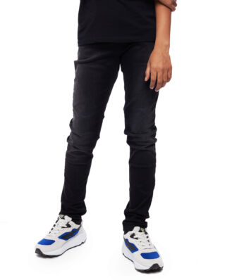 Replay Junior SB9326 Trousers 11.5 Oz Hyperflex Black Stretch Denim Super Slim Black