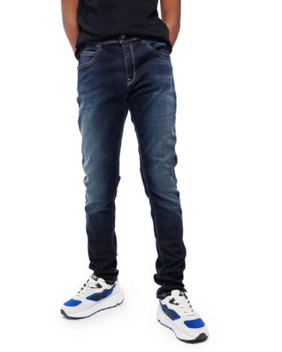 Replay Junior SB9385 Trousers 11.5 Oz Hyperflex Stretch Denim Super Slim Denim