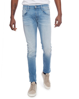 Replay M914 Anbass 909 11.5 OZ Hyperflex Stretch Denim Light Blue