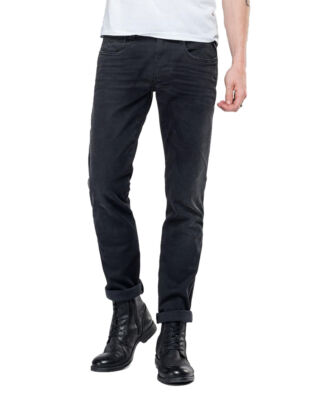 Replay M914 Anbass Hyperflex Slim Fit Black