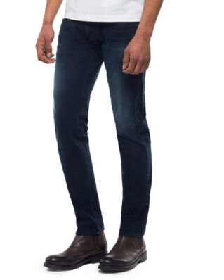 Replay M914 Anbass Hyperflex Slim Fit Jeans Dark Blue