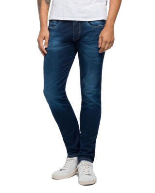 Replay M914Y Anbass Hyperflex Slim Fit Dark Blue