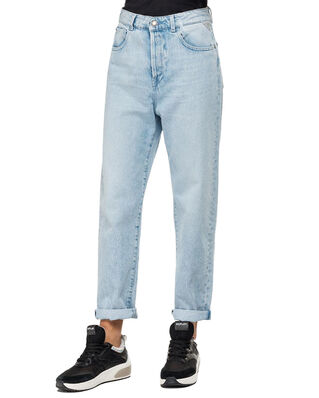 Replay WA444R Tyna Trousers 12.5 OZ Original Open-End Denim Light Blue