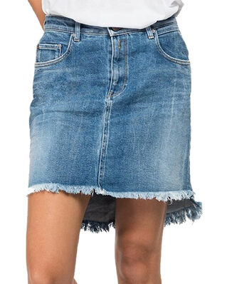 Replay WA9234 Skirt Comfort Denim Medium Blue