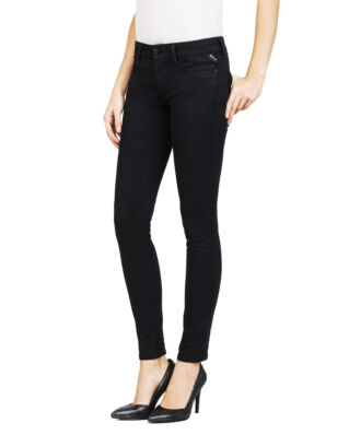 Replay WX689 Luz Hyperflex Skinny Fit Black