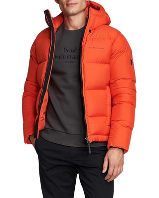 Peak Performance Rivel Jacket Go For Orange