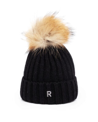 Rockandblue Hat Pom Pom Beanie Black/Natural