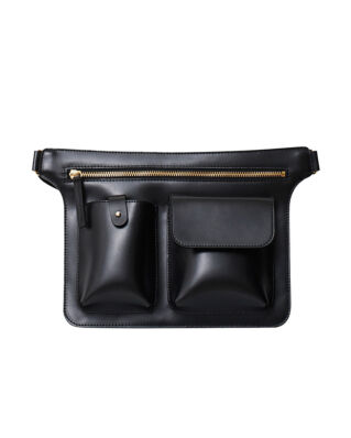 Rodebjer Loop Bag Black