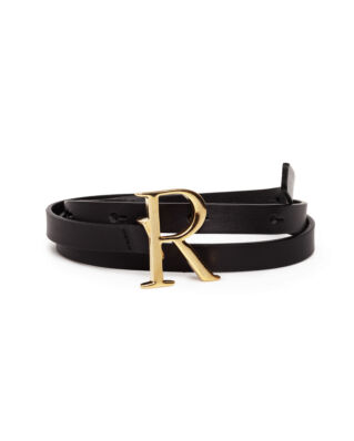 Rodebjer Logo Black/Gold
