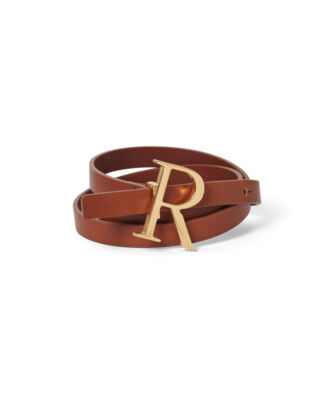 Rodebjer Logo Brown/Gold
