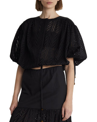 Rodebjer Breeze Embroidery Faded Black