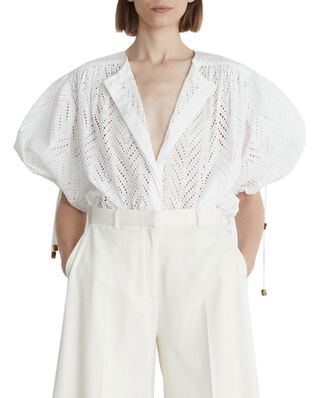 Rodebjer Rodebjer Breeze Embroidery Shirt White