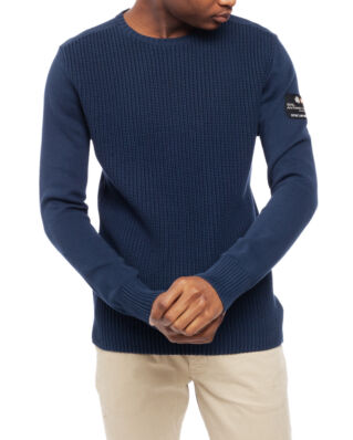 Sail Racing Antarctica Knitted Crewneck Navy