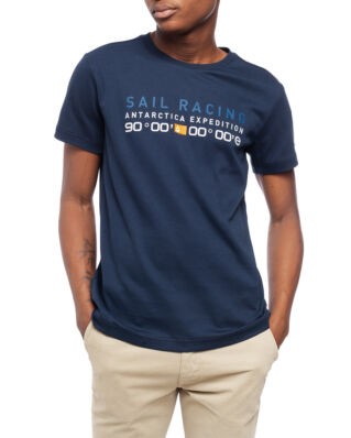 Sail Racing Antarctica Tee Navy