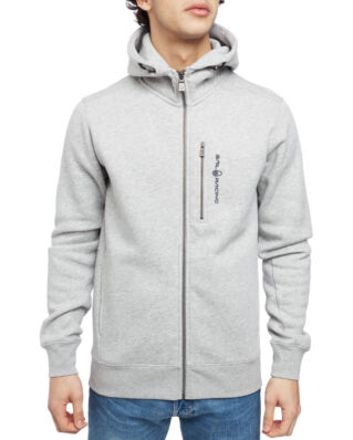 Sail Racing Bowman Zip Hood Grey Mel