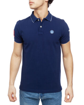 Sail Racing Grinder Polo Storm Blue