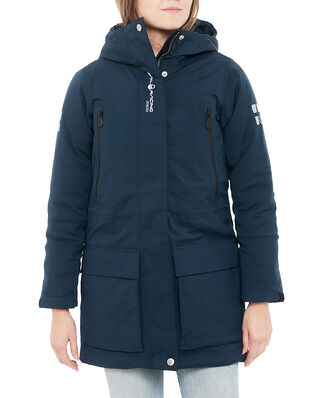 Sail Racing W Glacier Bay Parka Navy