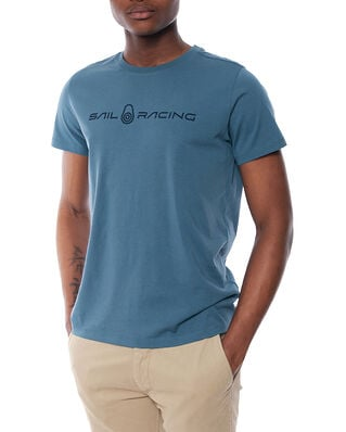 Sail Racing Bowman Tee Anchor Blue