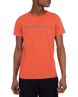 Sail Racing Bowman Tee Lava Red