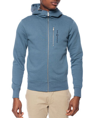 Sail Racing Bowman Zip Hood Anchor Blue