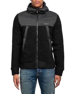 Sail Racing Glacier Knitted Zip Hood Carbon