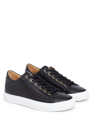 Sandays Footwear Wingfield Pebbled Leather Black