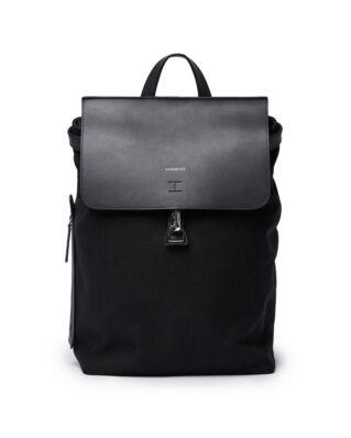 Sandqvist Leather Classic Alva W/Dog Hook Black