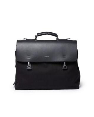 Sandqvist Leather Classic Jones W/ Dog Hook Black