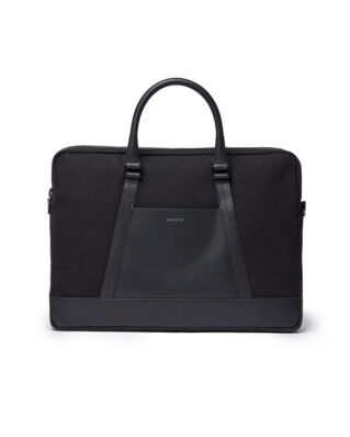 Sandqvist Leather Classic Melker Black With Black Leather