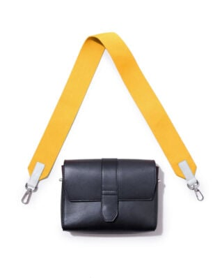 Sandqvist Shoulder Strap Webbing Yellow