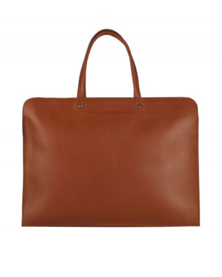 Sandqvist Stina cognac brown bag